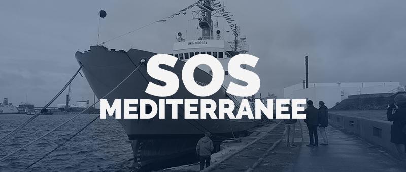 Une campagne européenne pour SOS Méditerranée et Médecins du Monde