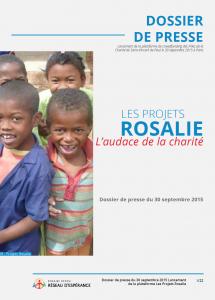 Dossier de presse - Projets Rosalie (30 septembre 2015)