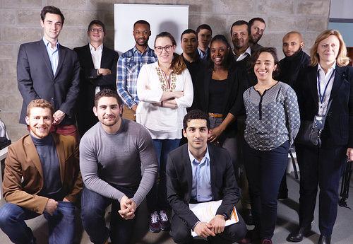 Partage d'expérience (et de pizza !) autour des créateurs de start-ups des quartiers avec Axelle Lemaire et French Tech
