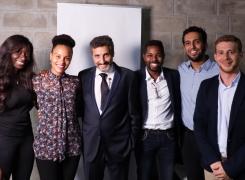 Mohed Altrad rencontre les entrepreneurs des quartiers chez Solicom