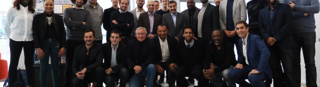 Retour sur la rencontre entre Mohed Altrad et les sportifs entrepreneurs