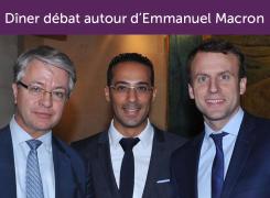 Protégé: Retour sur le dîner débat du Club XXIe Siècle autour d'Emmanuel Macron