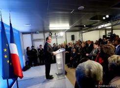 Le Président de la République lance France Entrepreneur à La Courneuve